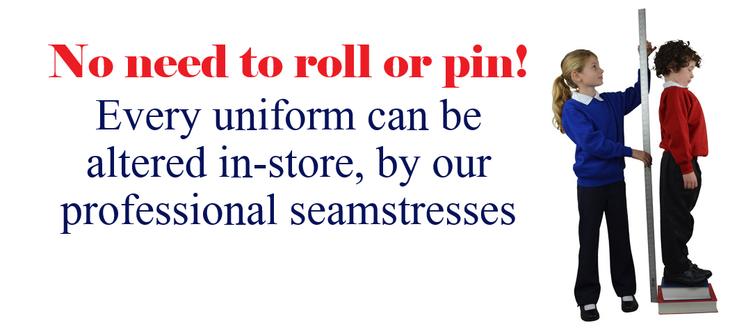 Uniforms Altered to fit