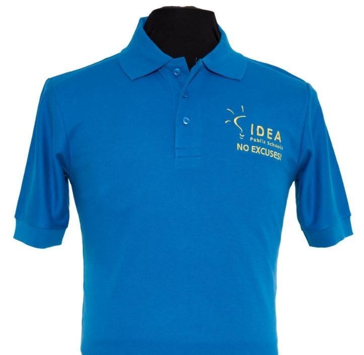 Pique Knit Polo for IDEA Public Schools- Short Sleeve