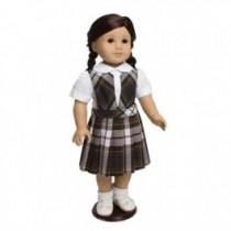 """18"""" Doll Bib Top Jumper"""