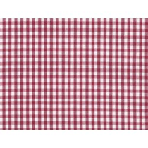 YOUNG FASHIONS PLAID 01 (MAROON GINGHAM)