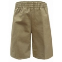 Toddler Pull-On Short- Solid Colors