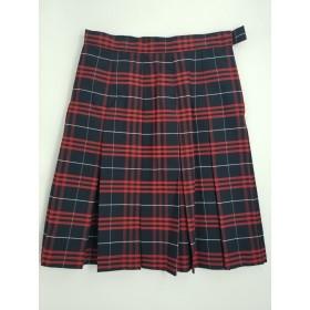 Stitch Down Pleat Skirt- Style 11-Plaid 77