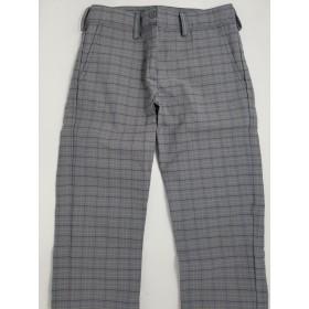 Girls Plaid Pants- Flat Front-Plaid 96