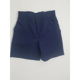 Toddler Pull-On Short- Solid Colors-Navy