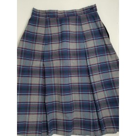 Box Pleat Skirt- Style 48-Plaid 20