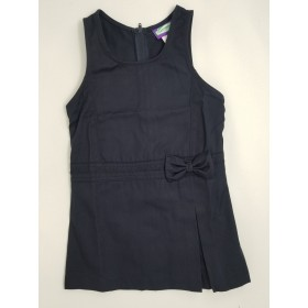 Bow Front Jumper-Navy