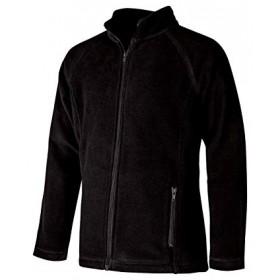 Polar Fleece Jacket- Full Zip-Black