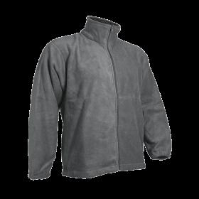Polar Fleece Jacket- Full Zip-Grey