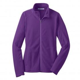 Polar Fleece Jacket- Full Zip-Purple