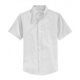 Oxford Shirt- Short Sleeve-White