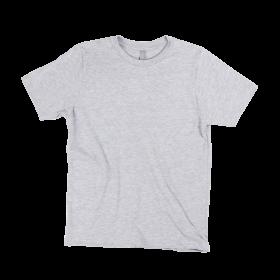 Gym T-Shirt-Ash Grey