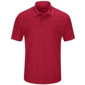Dri-Fit Polo Shirt-Red