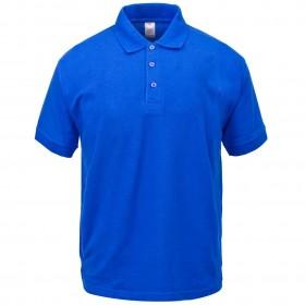 Best Value Polo Shirt- Short Sleeve-Royal Blue