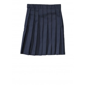 Pleated Skirt- Solid Colors-Navy