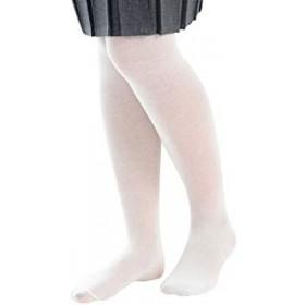 Girls Nylon (Lightweight) Tights-White