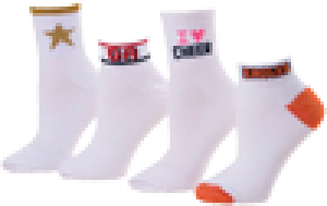 School Logo Socks
